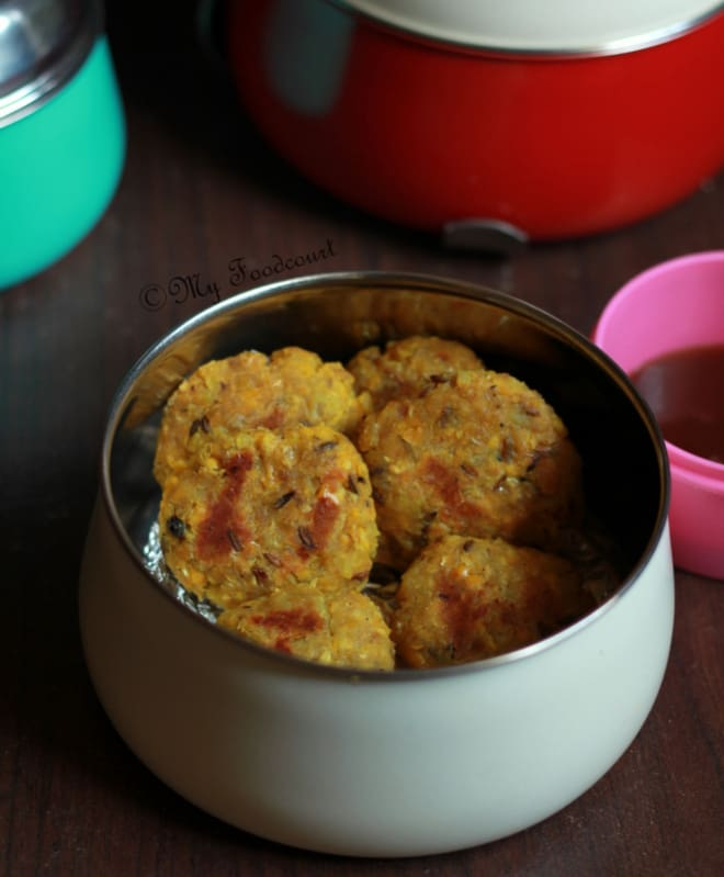 Kid friendly quick easy snack corn sweet potato tikkis for Quick snacks to make with potatoes