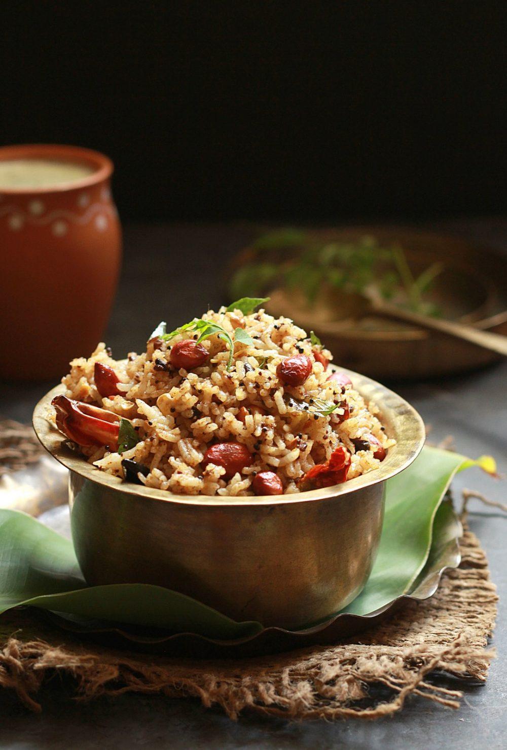 Tamarind Rice (Pulliyogare)