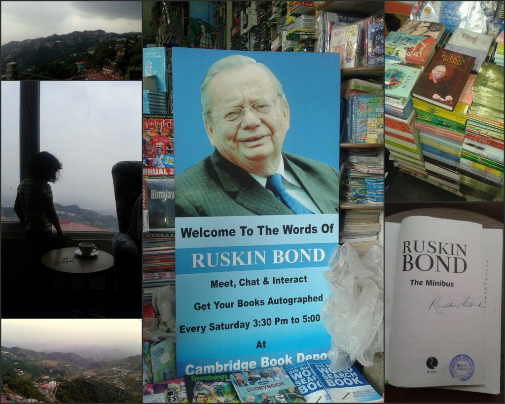 Ruskin Bond Mussoorie