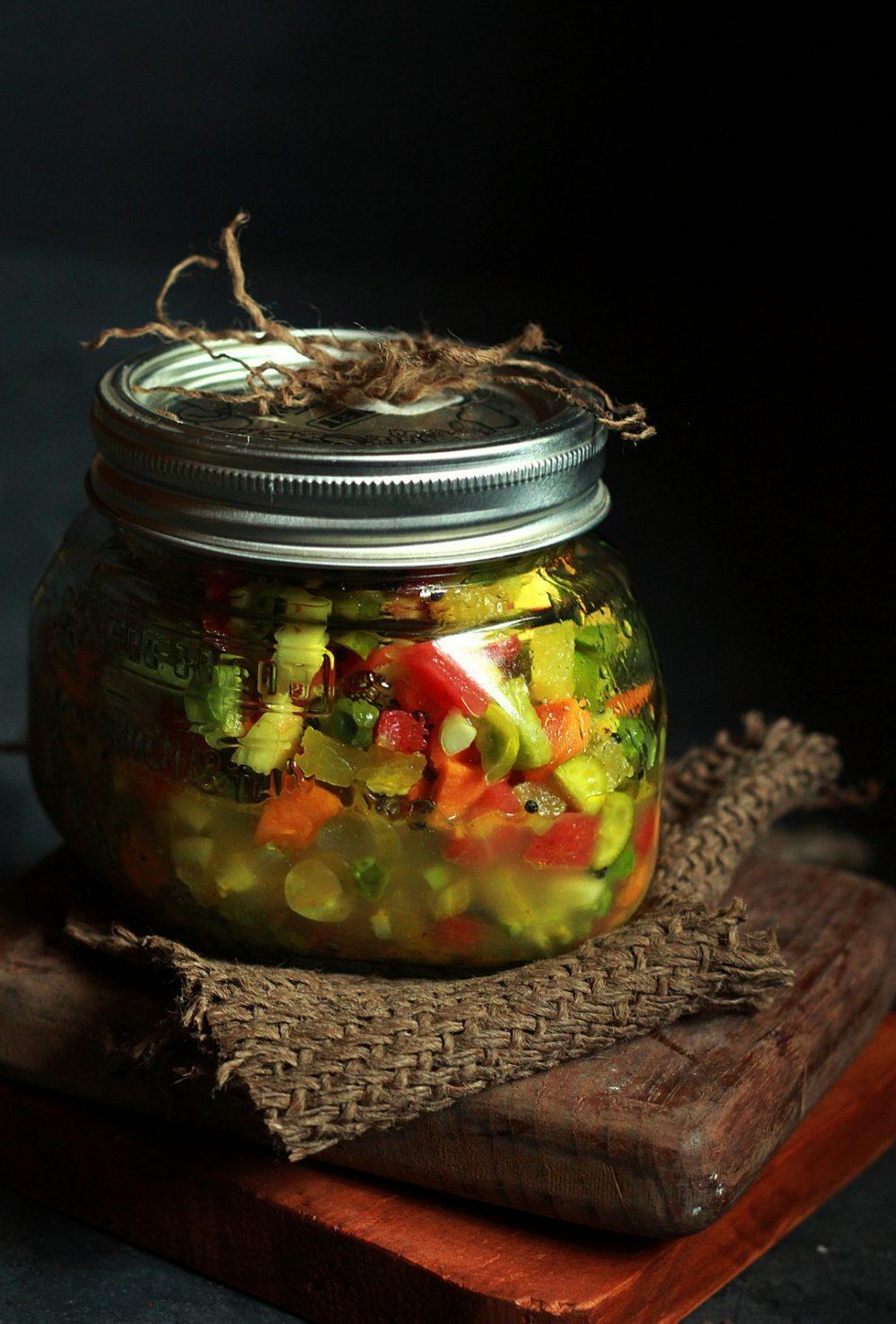 mixed veg pickle