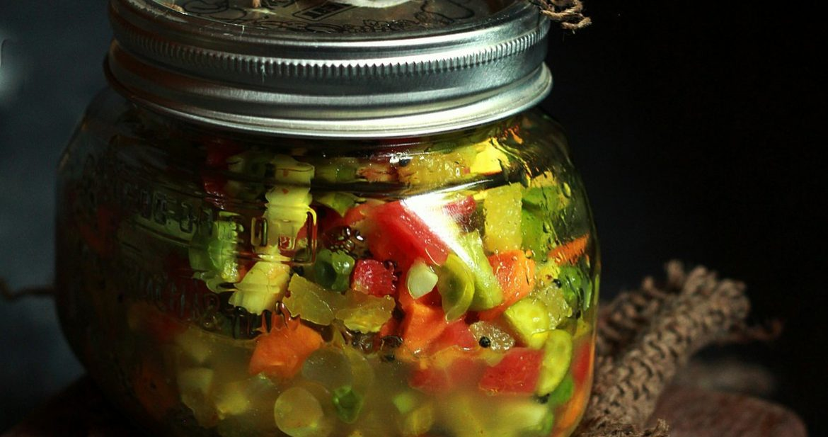 mixed veg pickle