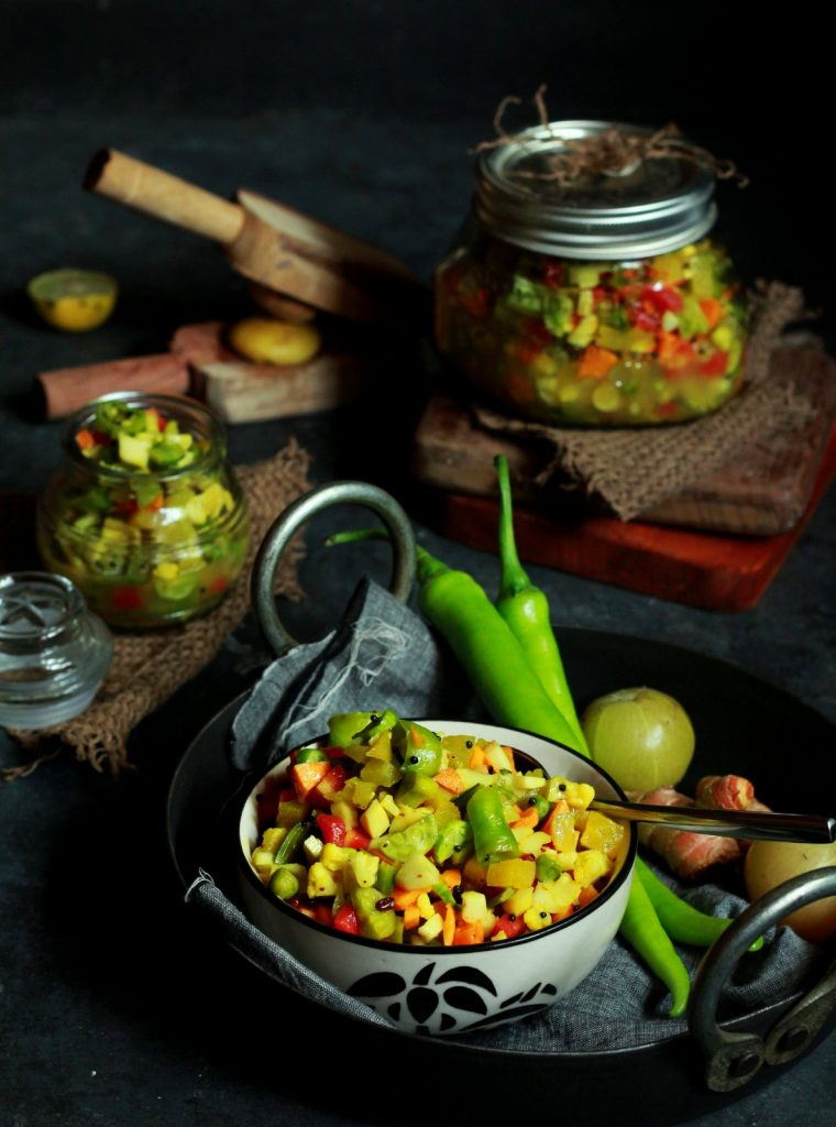 mix veg pickle